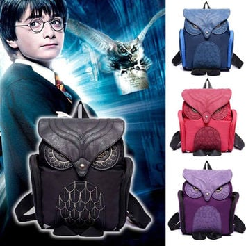 Harry Potter Leather Owl Backpack