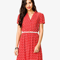 Rooster Print Dress