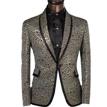 XS-6XL Slim Fit Blazer Men Suits Performance Tuxedo Party Prom Wedding Costume Homme Customization Service Provided