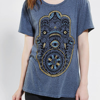 Truly Madly Deeply Hand Open-Back Tee - Urban Outfitters