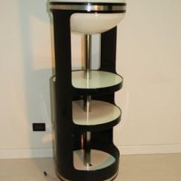 Bar swivel top lamp with ABS 1960 by Joe Colombo Att. for sale
