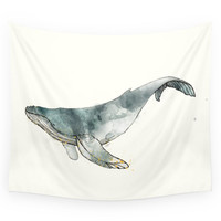 Society6 Humpback Whale Wall Tapestry