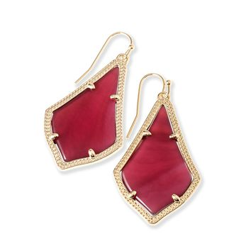 Dee Earrings In Clear Iridescent Kendra From Kendra Scott