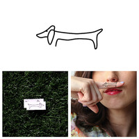 Haute Dog - Temporary Tattoo (Set of 2)