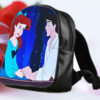 "Ariel and Eric Cute Design for Backpack / Custom Bag / School Bag / Children Bag / Custom School Bag ""NP"""