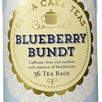 The Republic Of Tea Blueberry Bundt Cuppa Cake Tea, 36 Tea Bags