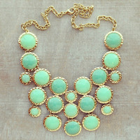 Pree Brulee - Mint Silk Road Necklace