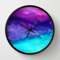 The Sound Wall Clock by Jacqueline Maldonado