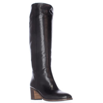 kate spade new york Mireille Western Tall Boots - Black