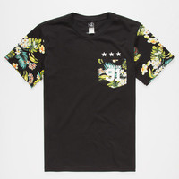 Volcom Future Athletics Boys Pocket Tee Black  In Sizes