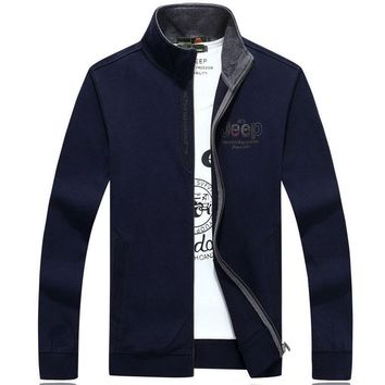 AFS JEEP Mens Brand Clothing Fashion  Solid Casual Hoodies and Coat Plus Size M-XXXL Hoody Men 99