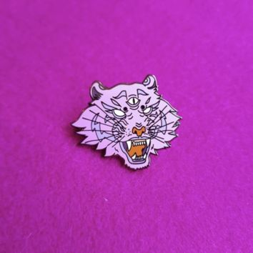 Bubblegum Tiger Pin