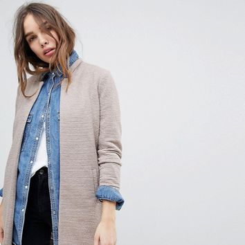 Only High Neck Jacket at asos.com