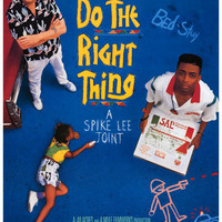 Do the Right Thing Spike Lee Movie Poster 11x17
