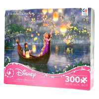 disney kinkade tangled rapunzel oversized pieces 300 pcs puzzle new with box