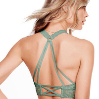 Wildflower Lace Strappy-Back Halter - PINK - Victoria's Secret