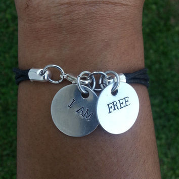 Silver Noodle Tube Bracelet, Silver Tube Bracelet, Affirmation Bracelet, Tube Bead Bracelet, Affirmation Jewelry for Women and Girls