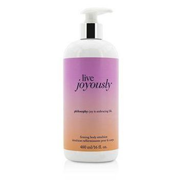 Philosophy Live Joyously Firming Body Emulsion Ladies Fragrance