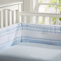 Chamois Crib Fitted Sheet | Pottery Barn Kids