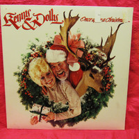 Amazing  Kenny Rogers & Dolly Parton Once Upon A Christmas Vinyl Record  LP 12' 33 RCA 15307 US 1984  Sealed