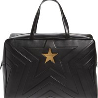 Stella McCartney Alter Nappa Faux Leather Overnight Duffel | Nordstrom
