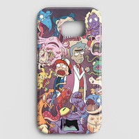 Rick And Morty Samsung Galaxy Note 8 Case