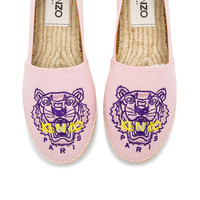 Kenzo Classic Tiger Espadrille in Pink
