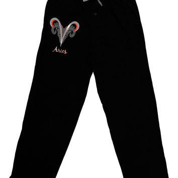 Aries Symbol Adult Lounge Pants