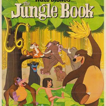 The Jungle Book 11x17 Movie Poster (1967)