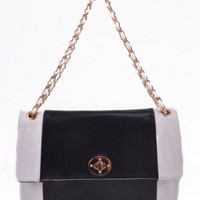 Black And White Crossbody Bag  - Diva Hot Couture