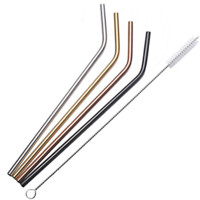 Soda Straws - Set of 4