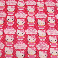 hello Kitty steering wheel cover print Cute Cotton pink kitty cat car