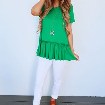 Pinch Me Top: Green
