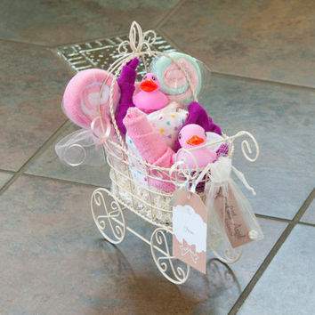Baby Girl Gift Basket (Small)