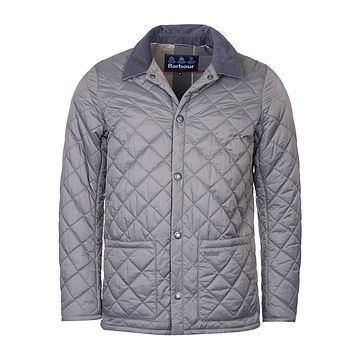 Pembroke Quilted Jacket in Grey by Barbour