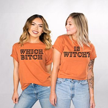Which is Witch Duo Shirt Set