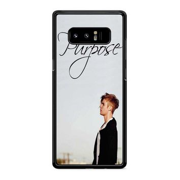 Purpose Justin Bieber Samsung Galaxy Note 8 Case