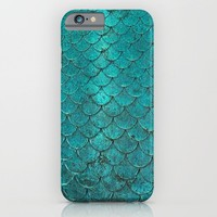 mermaid love iPhone & iPod Case by Pink Berry Patterns