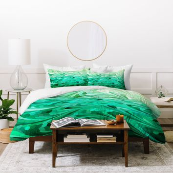 Lisa Argyropoulos Emerald Sea Duvet Cover