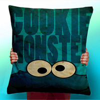 The Cookie Monster - Cushion / Pillow Cover / Panel / Fabric