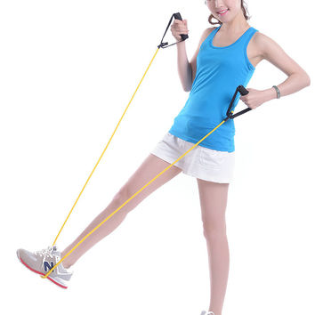 Women fitness power tube Yellow