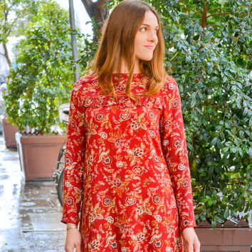 Floral Tunic Dress