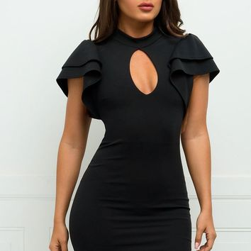Marcella Dress  - Black