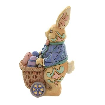 Jim Shore EGGS FOR EVERYBUNNY Polyresin Pint Sized Hand Painted 6006230