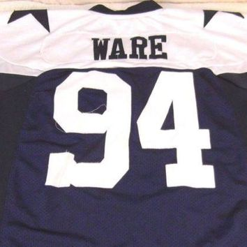 NFL Men's Reebok Throwback Dallas Cowboys SIZE 48 Jersey DEMARCUS WARE # 94