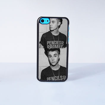 Justin Bieber Plastic Case Cover for Apple iPhone 5C 6 Plus 6 5S 5 4 4s