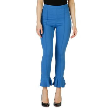 Blue Side Zip Pant