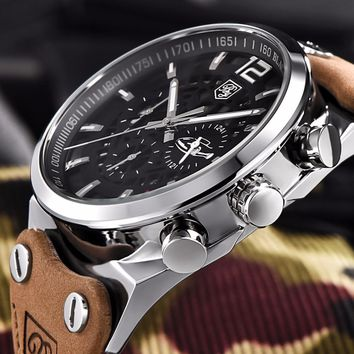 Best Men's Watches: Chronograph Stainless Steel Watch