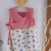 Sailing Away reversible dress 24 mo, 92 cm