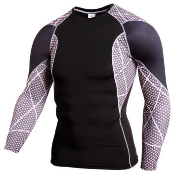 2018 Mens MMA Compression Shirt